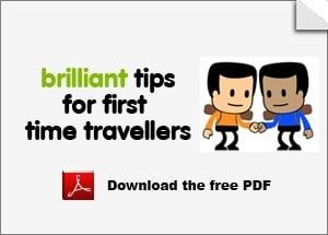 Brilliant tips for first-time travellers