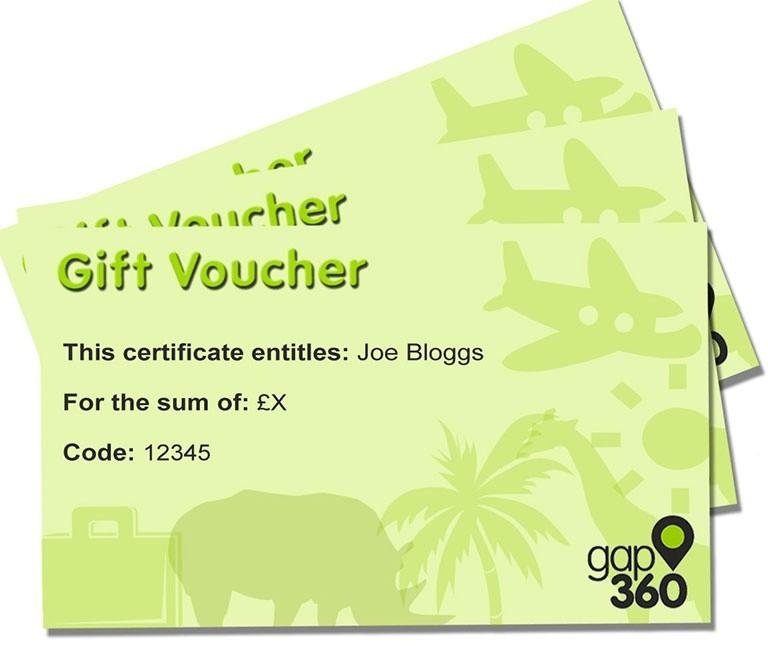 GAP 360 gift voucher