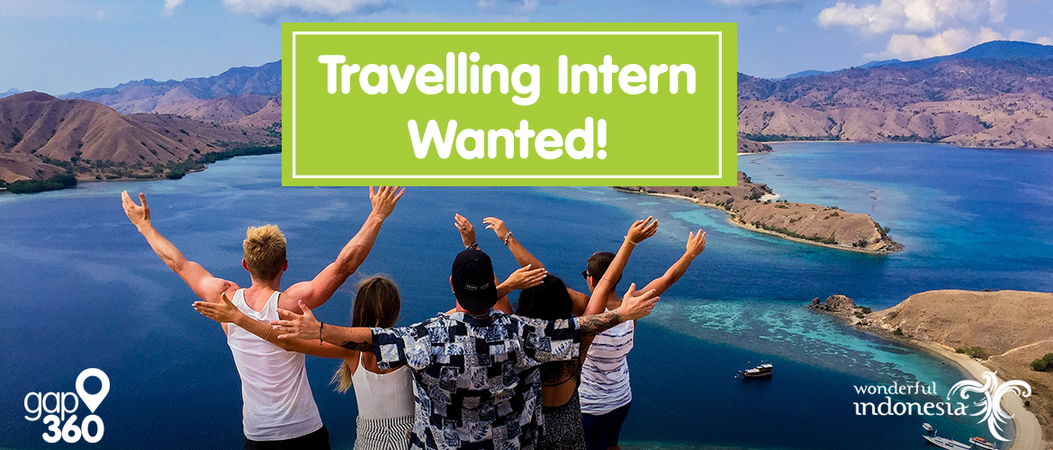 Become our travelling intern in Indonesia