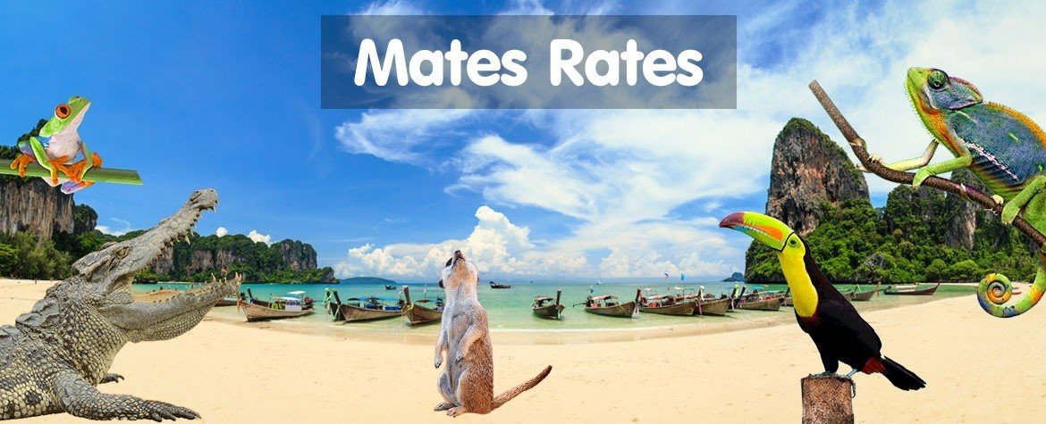Mates Rates - Up to 100% Off!!