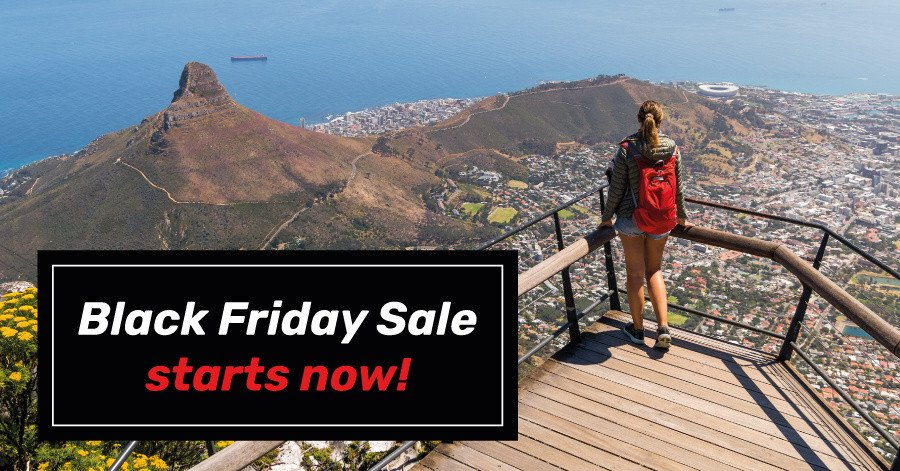Black Friday travel sale starts now