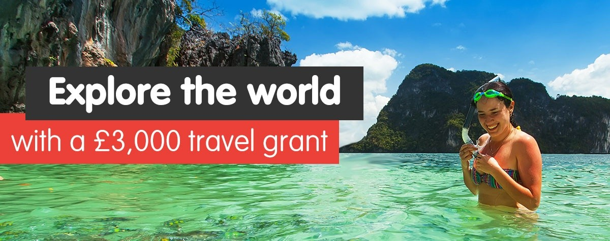 Explore the world with a travel grant
