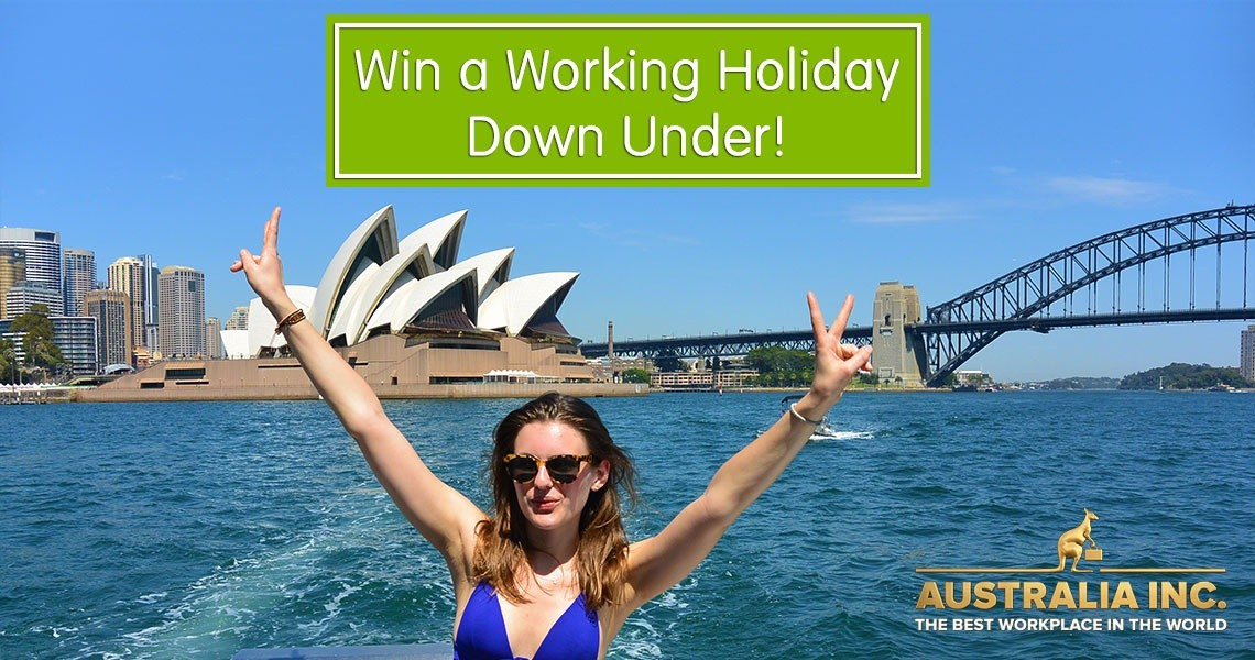 Win a place at Australia Inc